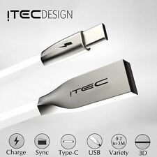 ITEC TYPE-C 3.1 USB-C 3D ALLOY CABLE DATA SYNC CHARGER CHARGING LEAD ADAPTER