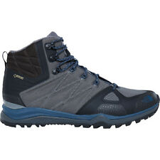 North Face Ultra Fastpack Ii Mid Gtx Hommes Chaussures - Zinc Grey Shady Blue