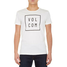 VOLCOM 'FLAGG' Men's Lightweight T-Shirt, Egg-White, BNWT, SALE!