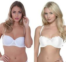 Lepel Athena or Flower Lace Underwired Bra White