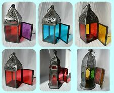 Metal Hanging Lantern tea light tealight candle holder Christmas lighting spa