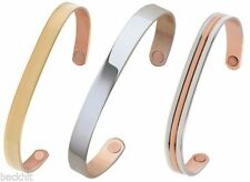 Sabona Original Copper and Magnetic Bracelet - Gold, Silver and Classic Horizon