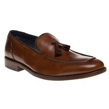New Mens SOLE Tan Hugo Leather Shoes Loafers And Slip Ons On