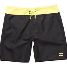 Billabong All Day Og Cut 17in Mens Shorts Boardshorts - Black Lime All Sizes