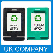 Remanufactured Ink Cartridge Replace For HP 338 HP343 Non-OEM Printer