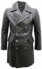 manteau Cuir WW2 motard nazi Allemand German SS motarrad