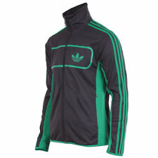 adidas Herren Originals Street Driver Jacke Track Top Retro Trainingsjacke