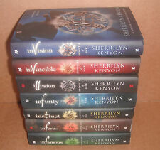 Chronicles of Nick Vol.1,2,3,4,5,6,7 by Sherrilyn Kenyon Books Set Hardcover NEW
