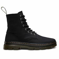 Dr. Martens Combs Black Womens - Mens Unisex Boots