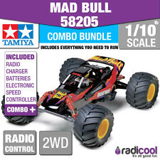 COMBO DEAL! 58205 TAMIYA MAD BULL 2WD LTD 1/10th R/C RADIO CONTROL 1/10 BUGGY