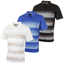 Island Green 2017 Mens Top Snap CoolPass Golf Polo Shirt Concealed Placket