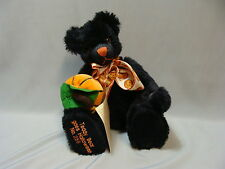 Limited Edition Hermann Teddy Bear Goes Halloween No 286 with Pumpkin New w Tags