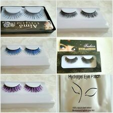 WeddingPlus 3D Natural Long Fake Eye Lashes Handmade False Eyelashes Black + Hyd