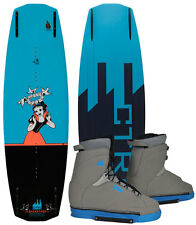 CTRL THE BACKSTAGE 134 2015 inkl. BACKSTAGE Boots Wakeboard Set inkl. Bindung