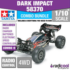 COMBO DEAL! 58370 TAMIYA DARK IMPACT 4WD RACING BUGGY DF-03 1/10th RADIO CONTROL