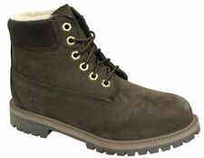 Timberland 6 Inch Classic Boots Youths Juniors Leather Brown A13JR D26