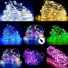 USB 5M / 10M / 20M LED Copper Wire String light Indoor Outdoor Decor Fairy Light
