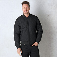 Men&Apos;S Levis Thermore Quilted Bomber Jacket In Black From Get The Label