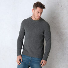 Men&Apos;S Levis Hayes Crew Neck Knit Jumper In Grey From Get The Label