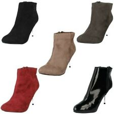 Mujer Spot On Botines LABEL f5910