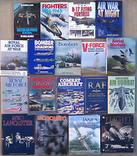 AIRCRAFT, AVIATION & ROYAL AIR FORCE ETC - SELECTION OF HARD BACKED BOOKS.