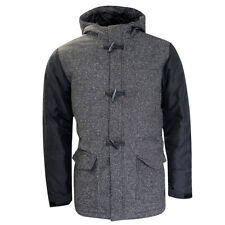 Vans Off The Wall OTW Parka Deluxe Padded Mens Grey Hooded Jacket 2M8BHH Vans E