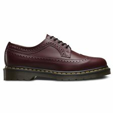 Dr.Martens 3989 5-Eyelet Cherry Womans Lace Up Shoes Smooth Leather