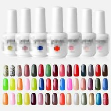 15 ml Soak Off Esmalte De Uñas Permanente Manicura UV Gel Polish Top Coat Base