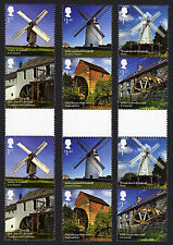 2017 WINDMILLS and WATERMILLS Gutter Pairs Set - Mint