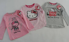 HELLO KITTY Shirt 92/98 104 110/116 122/128 T-Shirt Langarmshirt Sweatshirt *NEU