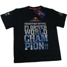 T-SHIRT nino Formula uno 1 F1 Red Bull Vettel Driver World Champion 2011 ES