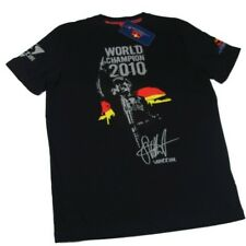 T-SHIRT Formula uno 1 F1 Red Bull Vettel Driver World Champion 2010 ES