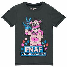 Boys Five Nights At Freddy's T-Shirt | Five Nights At Freddys Kids Short Sleeve