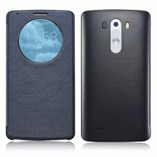 Qi Wireless Quick Circle Charging Snap On Flip Étui Housse Shell For LG G3 D855