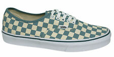 Vans Off The Wall Era Checkerboard Lace Up White Blue Trainers 3B9IC6 Vans B