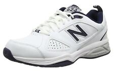 New Balance Mens Extra Wide 2E (EE) Fitting MX624WN  Cross-Training White Shoes