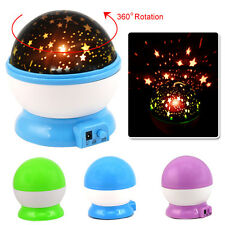 LED Star Sky Starry Night Projector Light Lamp for Kids Baby Bedroom Nursery
