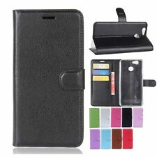 For Blackview E7 Smartphone PU Leather Flip Stand Card Slots Case Cover