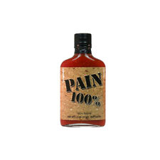 (3,95Eur/100ml) OJ. Pain is Good Sauce Original Juan Spicy Hot Chili Soße 200ml