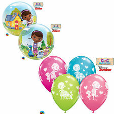 DISNEY Doc McStuffins & Friends Qualatex Latex Balloons (Kids Birthday/Party)