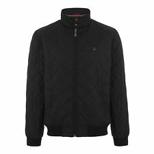 MERC LONDON CHAQUETA HUME ACOLCHADO NEGRO ML XL HARRINGTON