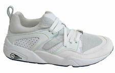Puma Blaze Of Glory Reflective White Lace Up Mens Trainers 362188 02 P0