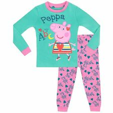 Girls Peppa Pig Pyjamas | Peppa Pig pyjama set | Girls Peppa Pig Pjs | NEW