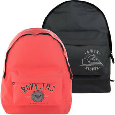 Boys Quiksilver Roxy Student School Rucksack Backpack Mens Work Bag Girls New