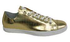 Converse Chuck Taylor CSM OX Lace Up Mens Trainers Leather Gold Shoes 100210 U11
