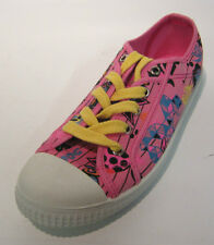 Rocket Dog - C213 11794 - Rosa Lona Graffiti Diseño Zapatillas