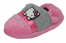 HELLO KITTY Persian - Bambini/bambini Hello Kitty rosa / grigio pantofole