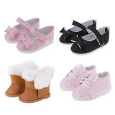 Stylish Leather Shoes/Boots for 18'' American Girl Our Generation My Life Dolls