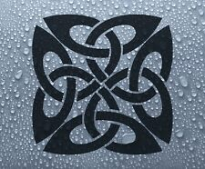 Celtic knot symbol #1 vinyl window decal sticker - Larger sizes