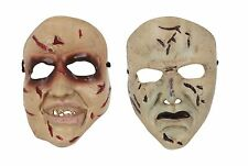 Horror Smiling or Normal Face Mask PVC Halloween Fancy Dress